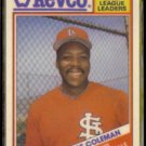 VINCE COLEMAN 1988 Topps Revco Leaders #3.  CARDS