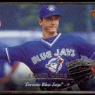 DAVID CONE 1995 Upper Deck #288 + 1995 Leaf #339.  BLUE JAYS