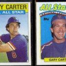 GARY CARTER 1986 Topps #708 + 1989 Topps #393.  METS