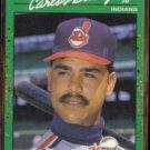 CARLOS BAERGA 1990 Donruss The Rookies #19. INDIANS