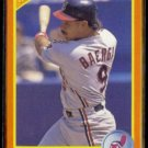 CARLOS BAERGA 1990 Score Traded #74T.  INDIANS