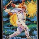 CARLOS BAERGA 1994 Feer Pro Vision Insert #4 of 9.  INDIANS