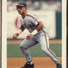 CARLOS BAERGA 1992 Bowman #531.  INDIANS