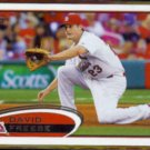 DAVID FREESE 2012 Topps #273.  CARDS