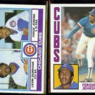 FERGIE JENKINS 1983 Topps #51 + 1984 Topps #483.  CUBS