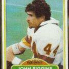 JOHN RIGGINS 1980 Topps #390.  REDSKINS