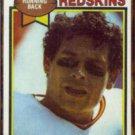 JOHN RIGGINS 1979 Topps #10.  REDSKINS