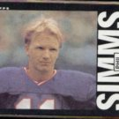 PHIL SIMMS 1985 Topps #123.  GIANTS