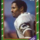 JAMES LOFTON 1986 Topps #218.  PACKERS