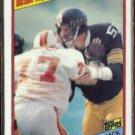 JACK LAMBERT 1984 Topps #168.  STEELERS