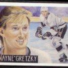 WAYNE GRETZKY 1991 Cardboard Dreams #4 of 16.  KINGS