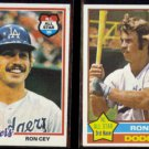 RON CEY 1976 Topps #370 + 1978 Topps #630.  DODGERS