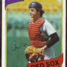 CARLTON FISK 1980 Topps #40.  RED SOX