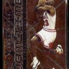 MICHAEL JORDAN 1998 Upper Deck MVP Jam Time Insert #JT1.  BULLS