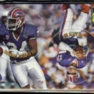 JIM KELLY / THURMAN THOMAS 1995 Pro Line Pop Out Coin Insert #C-3.  BILLS