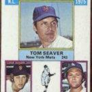 TOM SEAVER 1976 Topps KO Leaders #203.  METS