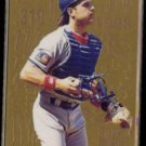 MIKE PIAZZA 1995 Flair Hot Numbers Gold Insert #7 of 10.  DODGERS