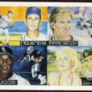 RYAN, BO, MADONNA, GRETZKY, CANSECO 1991 Cardboard Dreams PROTOTYPE #1.