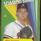 MIKE STANTON 1990 Fleer Soaring Stars #2 of 12.  BRAVES