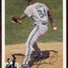 DAVE STEWART 1994 Upper Deck CC Silver Signature Insert #371.  BLUE JAYS