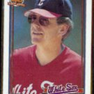 JEFF TORBORG 1991 Topps #609.  WHITE SOX