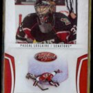 PASCAL LECLAIRE 2010 Panini Certified #'d Insert 168/250 + 2007 UD MVP Silver Sig.  OTT / COL