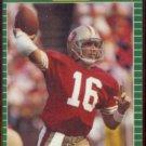 JOE MONTANA 1989 Pro Set #381.  49ers