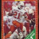 BARRY SANDERS 1989 Pro Set Prospect #494.  OKLAHOMA St.