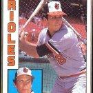 CAL RIPKEN 1984 Topps #490.  ORIOLES