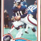 PHIL SIMMS 1982 Topps #433.  GIANTS