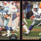 BARRY SANDERS 1992 SC #38 + 1992 Members Choice #301.  LIONS