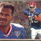 ANDRE REED 1995 Flair Preview Insert #3 of 30.  BUFFALO BILLS