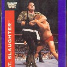 SARGENT SLAUGHTER 1991 Classic WWF Titan Sports #26.  VG