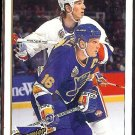 BRETT HULL 1993 Premier GOLD Insert #425.  BLUES