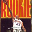 JERRY STACKHOUSE 1996 Skybox Rookie Roadmap #235.  76ers