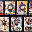 JUNIOR SEAU (15) Card Lot w/ Rookies + Gold.  CHARGERS