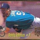 RANDY JOHNSON 1995 Fleer All Star Insert w/ J. Hudek #21 of 25.  MARINERS