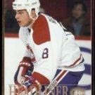 MARK RECCHI 1995 Fleer Headliner Insert #9 of 10.  CANADIENS