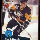 MARK RECCHI 1991 Pro Set Scoring Leader Insert #CC8.  CANADIENS