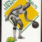 LENNY WILKENS 1990 Hoops #349.  CAVS