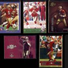 JEFF GARCIA (5) Card Lot (2000 + 2003)  49ers