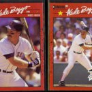 WADE BOGGS 1990 Donruss #68 + #712 All Star.  RED SOX