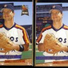 SCOOTER TUCKER (2) 1993 Ultra Rookie #47.  ASTROS