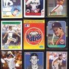 ASTROS (26) Card Lot (1983 - 2009) w/ HOF + Stars, Inserts + Odds.  NICE SHAPE