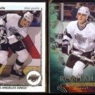 LUC ROBITAILLE 1990 Upper Deck #73 + 2011 Parkhurst Champs #32.  KINGS