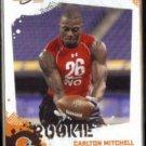 CARLTON MITCHELL 2010 Score Rookie #317.  BROWNS