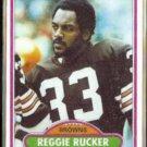 REGGIE RUCKER 1980 Topps #458.  BROWNS