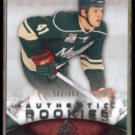 JUSTIN FAULK 2010 Upper Deck SP Game Used RC #'d Insert 583/699.  WILD