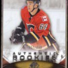 T.J. BRODIE 2010 Upper Deck SP Game Used RC #'d Insert 357/699.  FLAMES