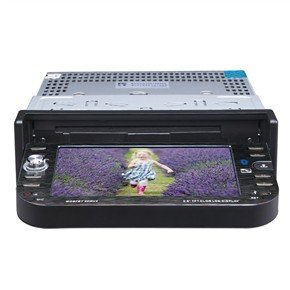 """DT-5601 5.6"""" 1 Din In-Dash Car DVD Player with GPS"""